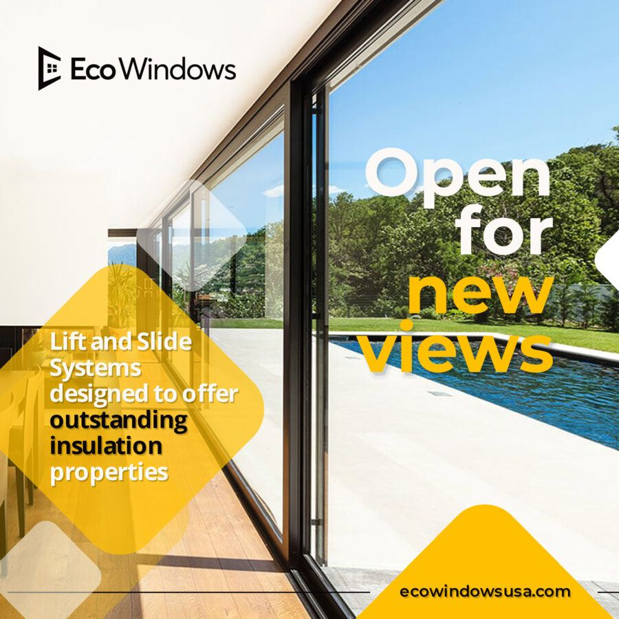 Aluminum windows and doors are among the best insulated on the market