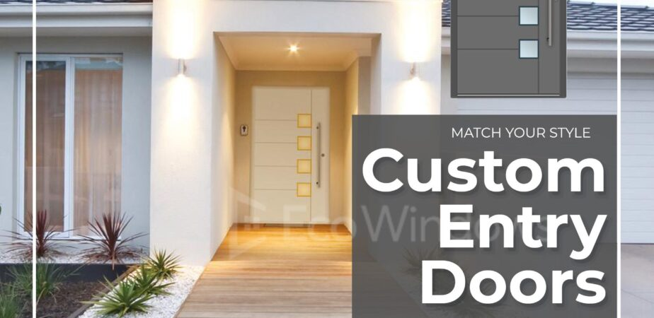 Modern building custom Entry Doors