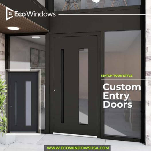 Modern or traditional style doors with excellent appearance for years